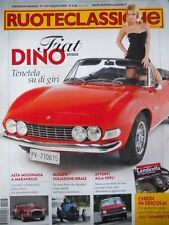 Ruoteclassiche n°247 2009 Fiat Dino Spider Opel Kadett 1965 Storia OPEL [P50]