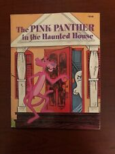 Vintage The Pink Panther In The Haunted House Story Book 1975 By Kennon Graham
