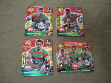 2007 RUGBY LEAGUE GOLD TAZO  TEAM SET - SOUTH SYDNEY RABBITOHS