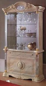 Luxe Fenêtre de Exposition, Vitrine Verre Armoire Moderne Style Bois Salon