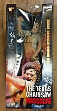 McFarlane Movie Maniacs 18 Inch Leatherface Texas Chainsaw Massacre New in Box