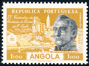 Angola - 1954 - S. Paulo / Brasil - Manuel da Nóbrega