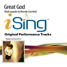 Beverly Crawford - Great God - Accompaniment Track