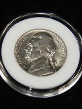 1957-D Jefferson Nickel GEM BU Full Steps Superb Luster in Airtight Cap #78UV