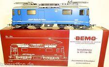 RhB Ge 4/4 II 662 Universallok AROSA blau BEMO 1258 102 H0m 1:87 OVP LJ1 å
