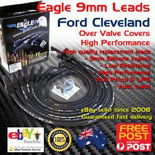 Eagle 9mm Ignition Spark Plug Leads 8cyl Fits FORD CLEVELAND 302 351 Black