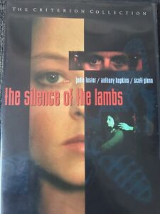 The Silence Of The Lambs (DVD, 1998) Criterion Collection. Anthony Hopkins. R0
