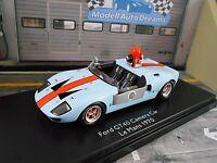 FORD GT40 GT 40 Le Mans Film Kamerawagen McQueen Gulf Cabrio Schuco Pro SP 1:43