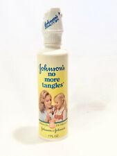 Vintage 1981 Johnson'S No More Tangles - 7 fl oz - New Old Stock