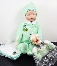"""Ashton-Drake Galleries poupée de porcelaine """"Baby Goofy"""" DISNEY BABIES dans le pays des rêves"""