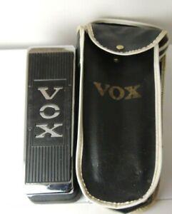 Vintage 1970's Vox V846 Wah Effects Pedal Original Made in Sepulveda, CA