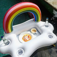 Inflatable Floating Spa Bar Pool Hot Tub Side Tray for Food Drinks Snacks