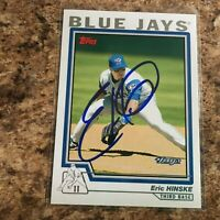Eric Hinske Signed 2004 Topps Auto Toronto Blue Jays Chicago Cubs Diamondbacks