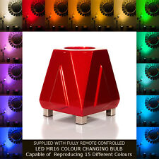 DECO MOOD LAMP UPLIGHTER - ROCKET RED - DESIGNER TABLE LIGHT & FLOOR LIGHTING.