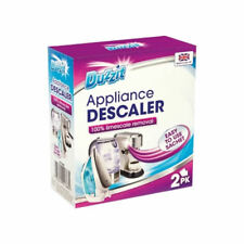 Appliance descaler limescale removal irons/coffee machine/kettle 2 pk