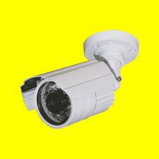 CCTV Security Camera - Sony IR Bullet - 65' Night Vision Range - Outdoor - White