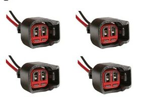 4x Connector 2-way for Chevrolet Fuel Injector PT1763