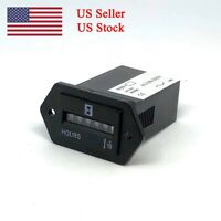 DC 12-36V 6-digit Display Electronic Time Hour Meter Counter Max 99999.9 TE537