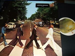 THE BEATLES : ABBEY ROAD PROMOSTAMPED LIMITED EDITION LP APPLE C1-46446 USA