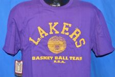 NWT NEW LOS ANGELES LAKERS 1949 CHAMPIONS REVERSIBLE MITCHELL & NESS t-shirt XL
