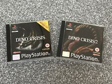 Dino Crisis 1 & Dino Crisis 2 for Playstation One (PS1)