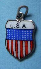 States silver charm Vintage U.S.A. United