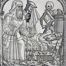 6 HOLZSCHNITTE VERSUCHUNG DES HEILIGEN ANTONIUS CHRISTOPH STIMMER DERSCHAU 1570