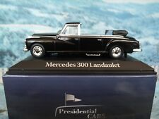 1/43 ATLAS  1963 Mercedes Benz 300 Adenauer Presidential cars