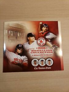 2006 Boston Red Sox Medallion Collection Board Only The Boston Globe