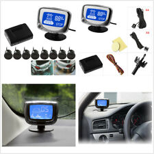 LCD Display 8 Parking Sensors Car Reverse Front View Radar System w/ Sound Alert