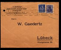 Germany 1922 Commercial Cover to Lubeck (III) - Z14063