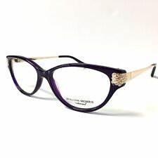 William Morris London Eyeglasses Design England Dolly 53mm Purple Gold