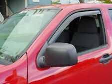 In-Channel Wind Deflectors: 2004-2012 Chevy Colorado Standard Cab (2-piece)