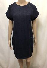 GORMAN Dress Womens ~ Size 8 ~ Great Cond Thick Denim Style w/ Waist Pockets