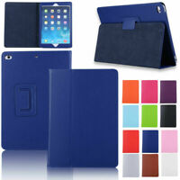 "For Apple iPad Mini 5 2019 Mini 1/2/3/4 7.9"" PU Leather Foldable Stand Flip Case"