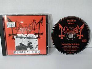 MAYHEM - DEATHCRUSH CD 1993 1st press DSP Anti-Mosh 003 Black Metal VG+/NM