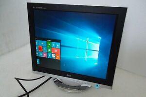"""LG Flatron L17NP-2 LCD Monitor 17"""" VGA DVI 1280x1024 Tilt 2-Port USB Hub L1720PQ"""
