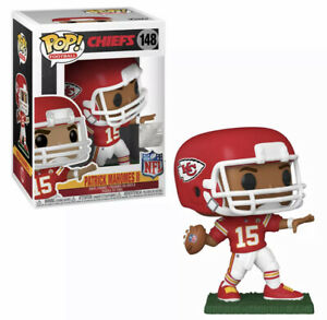 Patrick Mahomes (Kansas City Chiefs) NFL Funko Pop! Series 7 With Protector Mint