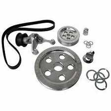 VW Beetle Bus CB Performance Clear Serpentine Belt Pulley System CB1888//10