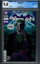 Batman #93 CGC 9.8 Tony Daniel Joker cover