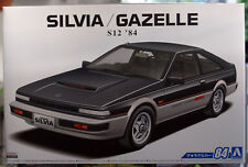 1984 Nissan Silvia S 12 / Gazelle Turbo RS-X JDM 1:24 Aoshima 056158
