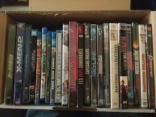 Lot de 22 DVD et Bluray (X-men, Terminator2, ...)