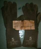 US ARMY WWII UNIFORM SOLDIERS GLOVES MINT CONDITION WITH TAG