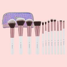 Bh Cosmetics Crystal Quartz 12 Piece Brush Set with Cosmetic Bag