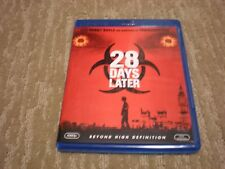 28 Days Later Blu-Ray Dvd (2002) Cover: Cillian Murphy