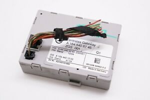 Mercedes W164 W251 X164 Zentrales Gateway Front Lock Control Module 1645406745