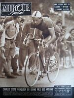 CYCLISME GRAND PRIX DES NATIONS CHARLES COSTES N° 172 MIROIR SPRINT 1949