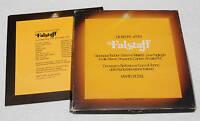 FALSTAFF:BOX-3LP+LIBRETTO COME NUOVI EX+