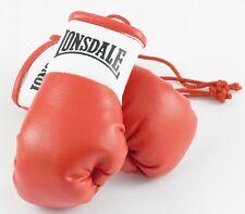 Lonsdale Rojo Mini Guantes De Boxeo Para Autógrafo Cazadores