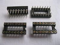 50 pcs IC Socket Adapter 16 pin Round DIP High Quality New